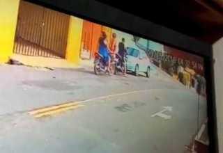 Mulher mata marido PM em porta de motel; câmeras de segurança gravam o momento do crime e justiça libera mulher / Foto : Reprodução