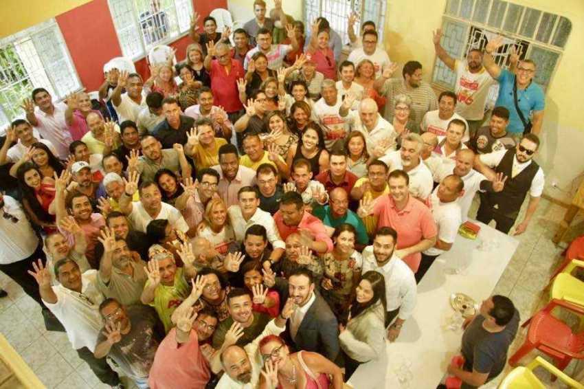 PSB oficializa pré-candidatura de David Almeida ao Governo do Amazonas - Imagem: No Amazonas é Assim