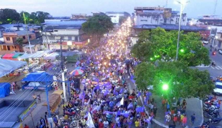 Eleições chegam na reta final e manifestações favorecerem Carlinhos Bessa Deputado Estadual