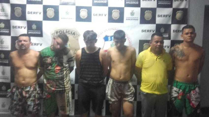 """Polícia flagra 10 pessoas dentro de motel """"chique"""" com 200kg de droga, na estrada do Aeroclube em Manaus - Imagem: Divulgação"""