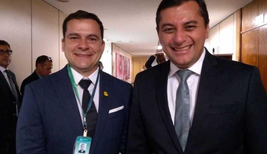 Capitão Alberto Neto e Wilson Lima