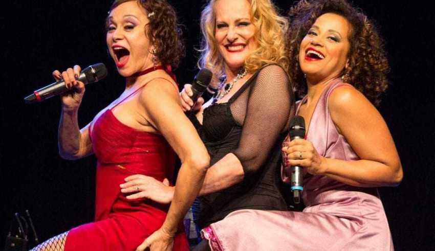 Tânia Alves, Lucinha Lins e Virgínia Rosa. / Foto: Divulgação