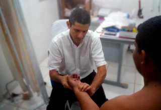 Fundação Alfredo da Matta realiza 476 exames para diagnóstico de hanseníase no Careiro / Foto : Divulgação