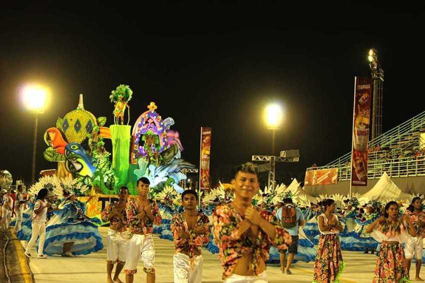 A Tradição Leste sobe para o Grupo de Acesso A para o Carnaval 2020. / Foto: Stanny Saraiva/Manauscult
