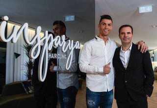 Cristiano Ronaldo abre clínica de transplante capilar em Madri