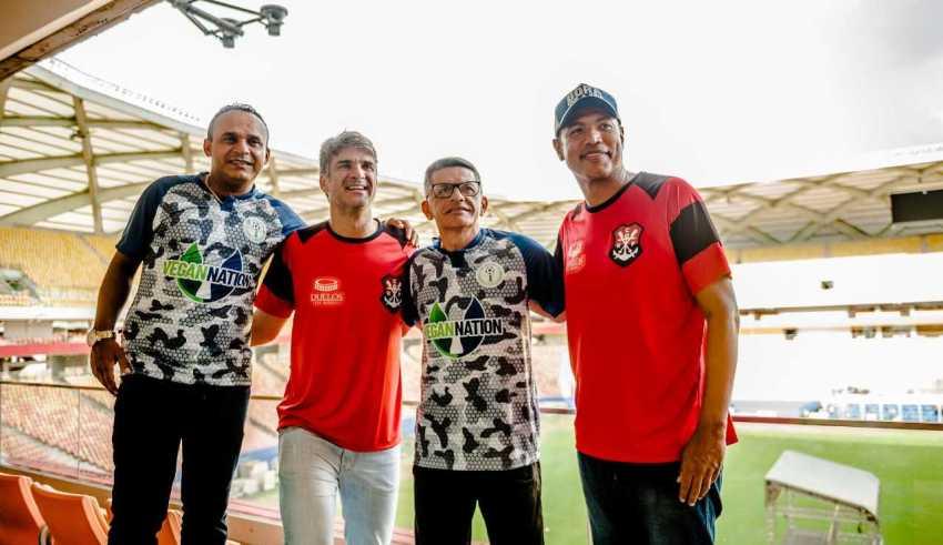 'Lendas do Flamengo' encaram Amigos do Iranduba, dia 30, em Manaus