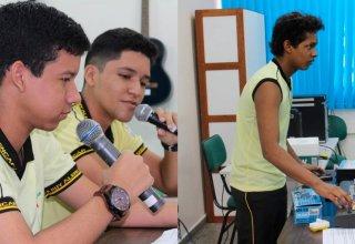 Alunos da Escola Ruy Alencar, no Nova Cidade, participam de workshops de comunicação. / Fotos: Divulgação