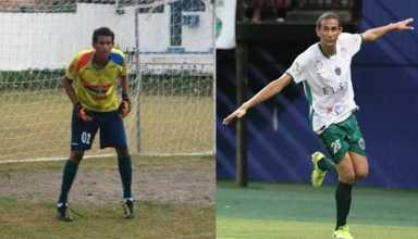 Hamilton foi revelado pelo Fast em 2012, no gol. Agora, aos 25 anos e com 1,91m, assinou com o Manaus, ganhou posição e virou artilheiro do Amazonense
