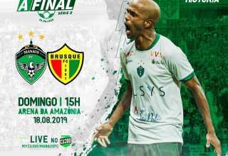 Saiba onde comprar os ingressos da final entre Manaus FC x Brusque - SC