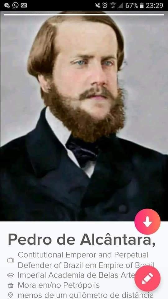 Tinder do Dom Pedro I