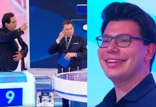 Geraldo Luiz levanta dúvida sobre a paternidade do filho dele ao vivo no Programa do Silvio