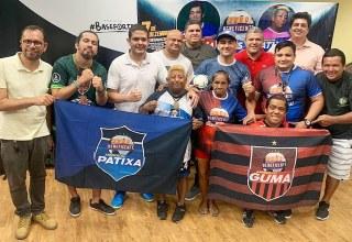 Laçamento oficial dos brasões, uniformes, bandeiras e convocações dos times Amigos do Guma Vs Amigos da Patixa