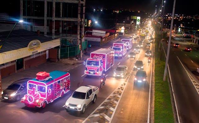 Caravana de Natal da Coca-Cola