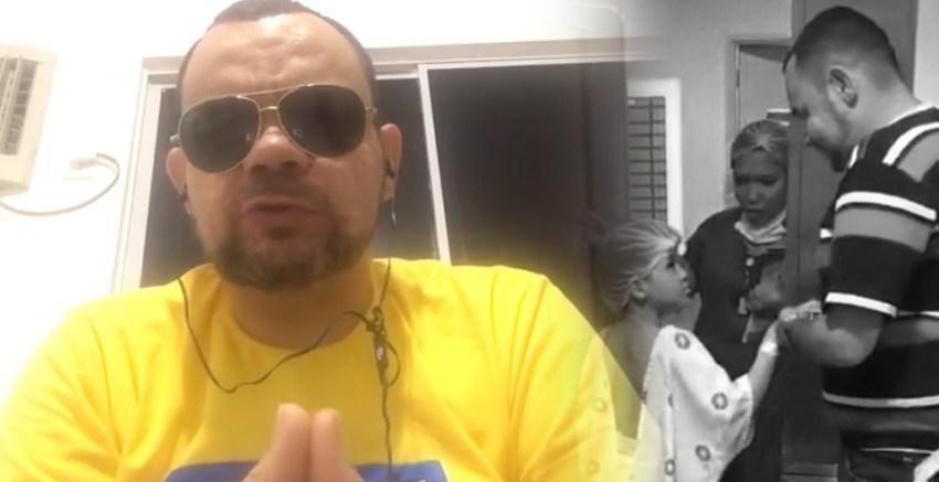 Pai que perdeu filho durante cirurgia faz vídeo para pedir desculpas a médicos