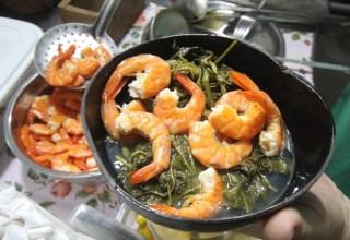 Aprenda a preparar tacacá; prato indígena feito com jambu e camarão / Foto: Cristino Martins/O Liberal