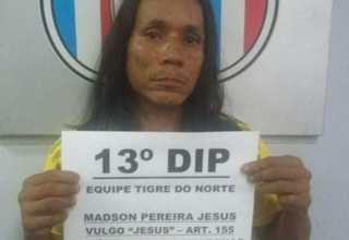 Jesus foi preso após furtar igrejas da Cidade de Deus