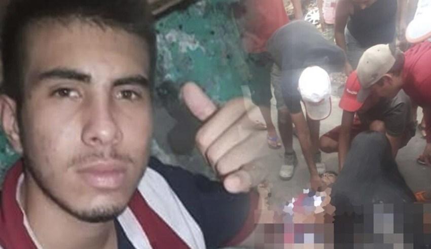 """Jovem de 19 anos picha """"FDN"""" e é executado na Compensa. Polícia"""