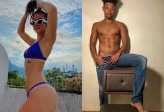 Mel Maia e o modelo Thiago Loyola / Divulgação Instagram