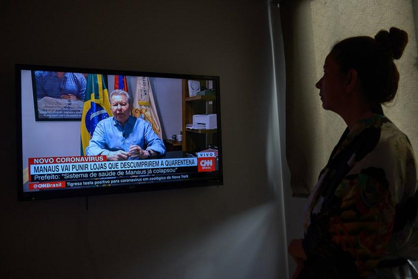 Em entrevista à CNN, Arthur Neto avisa que sistema de saúde em Manaus já colapsou