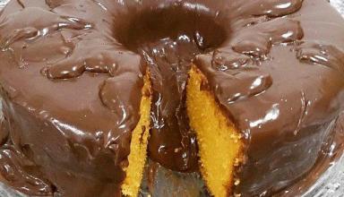 Aprenda a fazer Bolo de Cenoura com Cobertura de Chocolate
