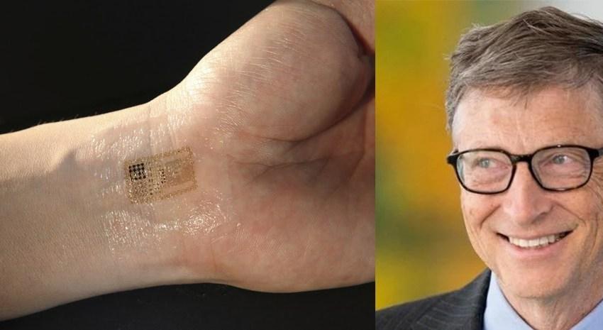 """Saiba tudo sobre a """"tatuagem secreta"""" que revela se você tomou vacinas desenvolvida pelo Bill Gates!"""