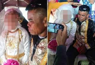 Menina de 13 é obrigada a casar com homem de 48 anos e causa repulsa em internautas