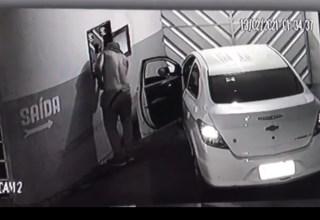 PM foge após cometer crime em Manaus — Foto: Reprodução