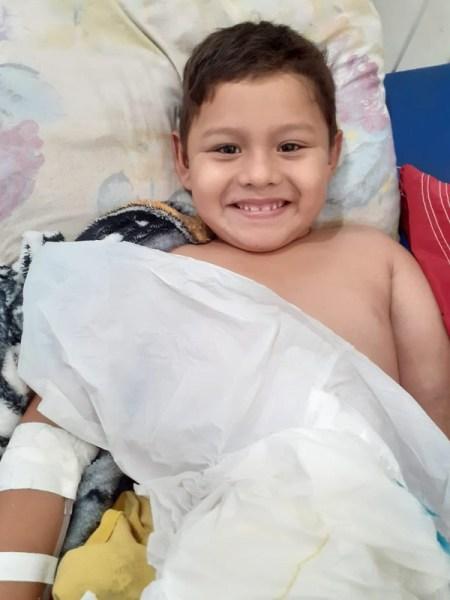 Menino tinha 6 anos e morreu após receber anestesia em hospital de Manicoré — Foto: Divulgação/Arquivo pessoal