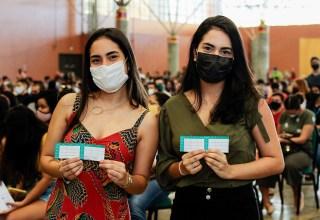 Hoje e amanhã tem novo mutirão de vacinação em Manaus para pessoas acima de 18 anos!
