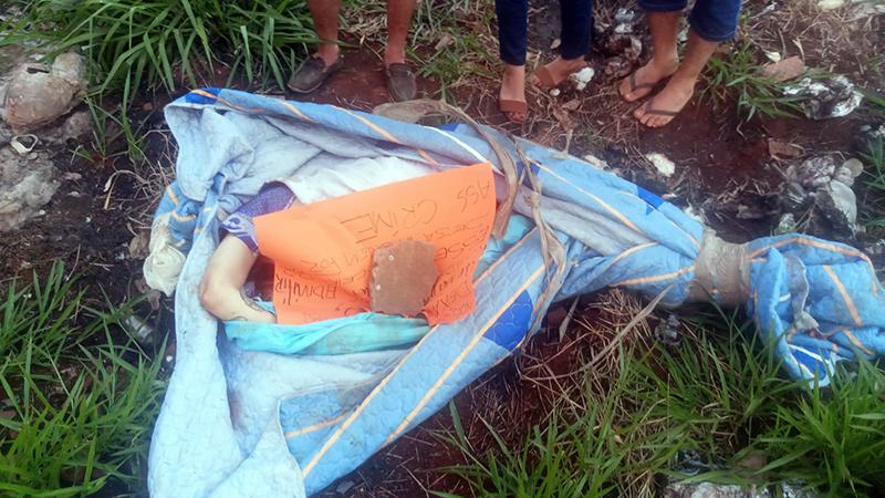 O corpo de Carlos foi encontrado ontem na periferia de Pedro Juan Caballero.(Foto: Reprodução)