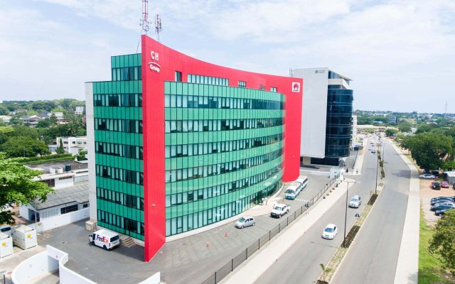 huawei building in cantonments developed by goldkey properties