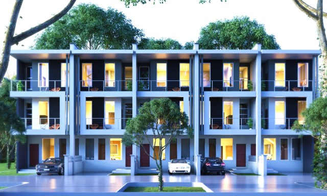 The Dromo 3 bedroom townhouse by Signum Development