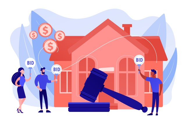 Rent Advance Laws in Ghana illustration by Vector Juice