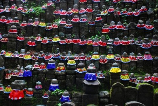 Grave sites at Koya San - Japan Itinerary