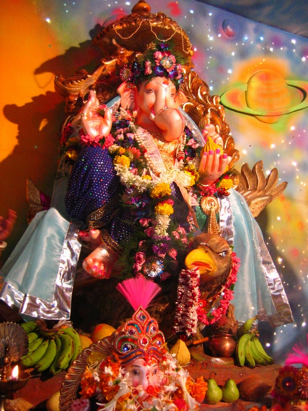 Ganesh made out of plaster of paris
