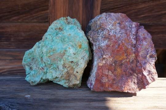 Silver Bell Mine Rocks - Joshua Tree National Park Hiking