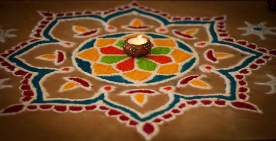 Make Rangoli: 7 ways to celebrate Diwali with Kids