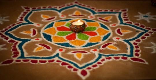 Make Rangoli: 7 ways to celebrate Diwali with Kids