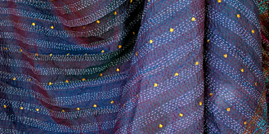 Ultimate Holiday gift guide for traveling families - kantha travel wrap