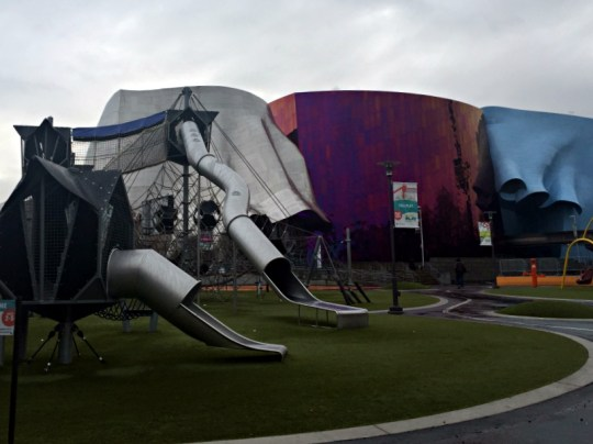 Weekend Getaway in Seattle - The EMP museum and playground