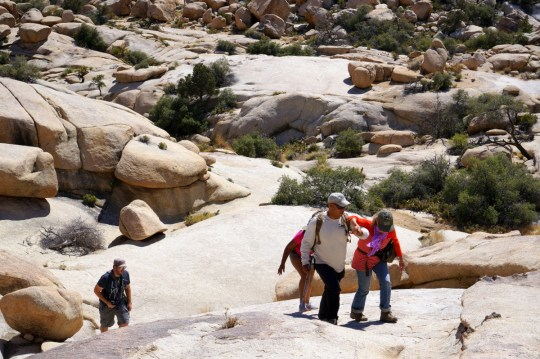off the  beaten path with Joshua Tree Excursions