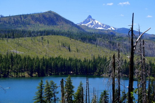On the way to Bend - Oregon Road Trip Itinerary