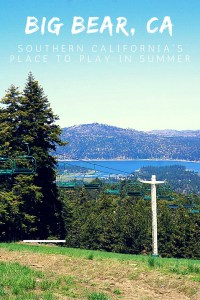 Summer in Big Bear with Kids is full of outdoor adventures on and off the beautiful lake!