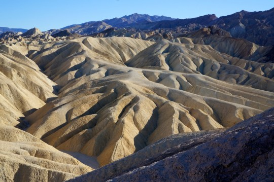 Zabriskie Point - What to do in Death Valley with Kids