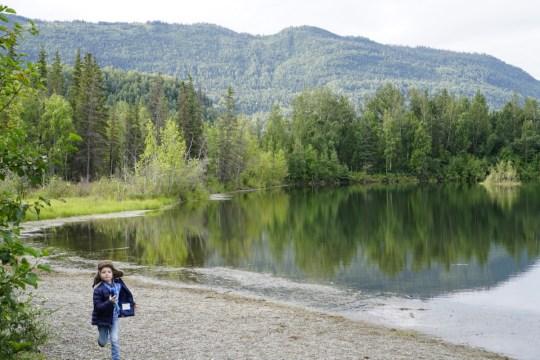 Alaska road trip with Thrifty Rental Car -Reflection Lake
