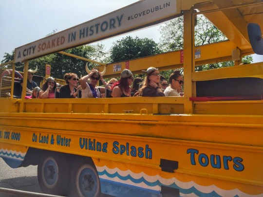 Viking Splash Tours is a top attraction in Dublin for families