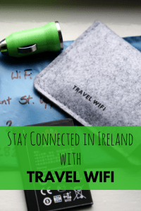 Stay Connected in Ireland with TravelWifi's portable hotspot. #Ireland #WIFI #travel