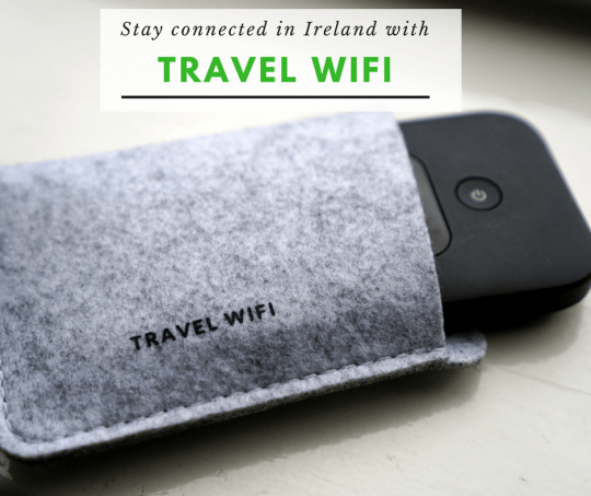 Stay connected with TravelWiFi in Ireland