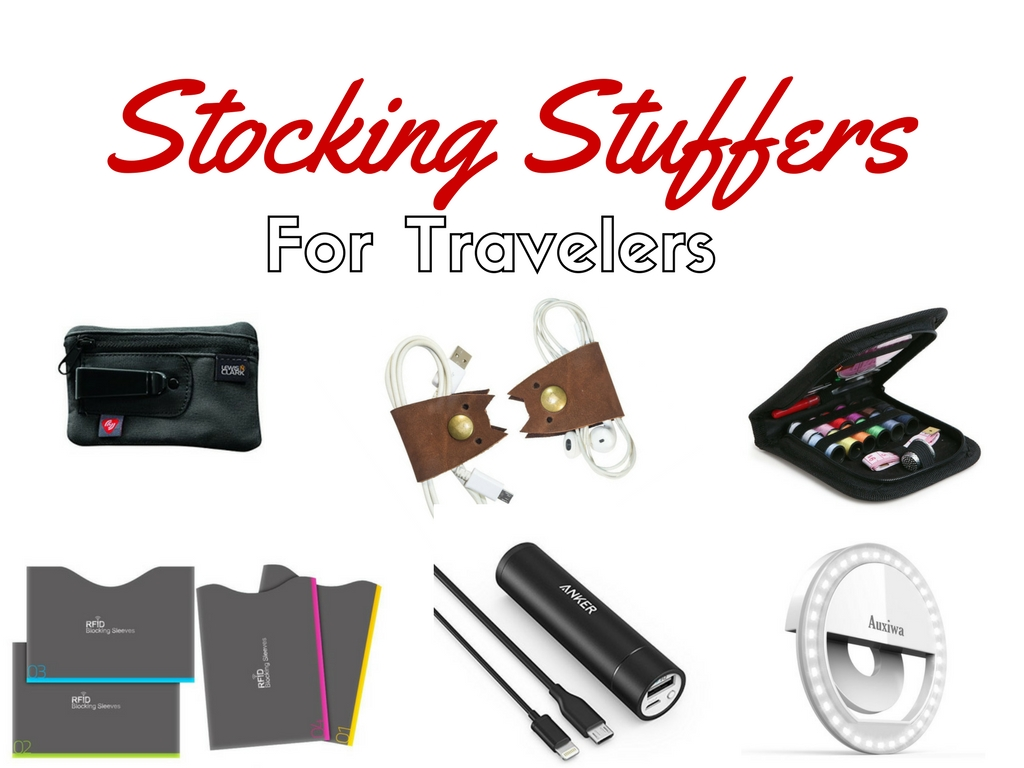 Stocking Stuffers For Travelers (Under $20)