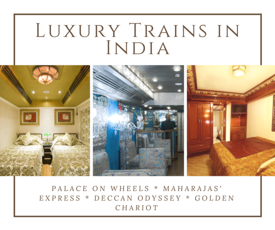 Traveling by Luxury train in India